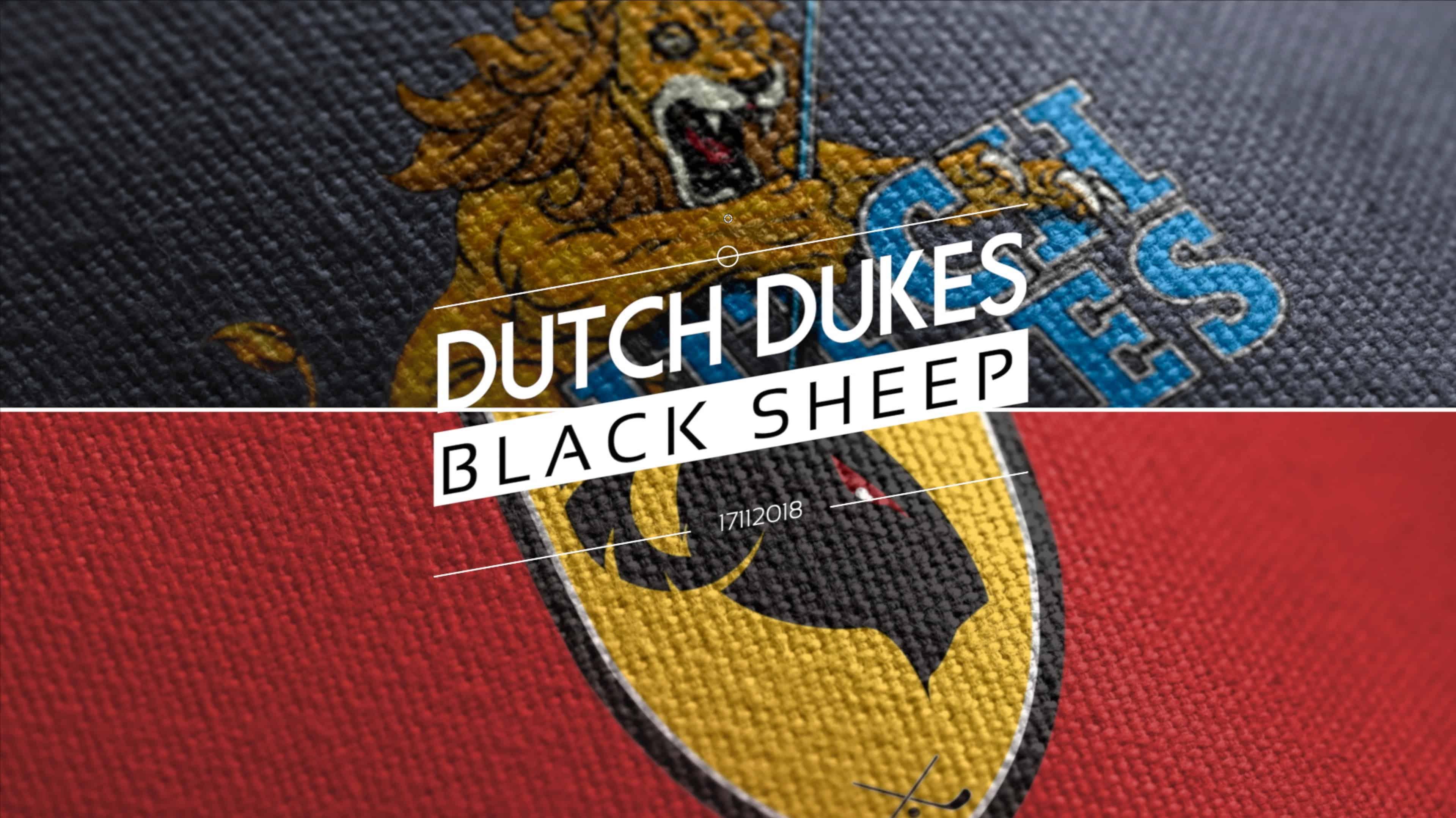 Dutch Dukes versus Black Sheep 17112018
